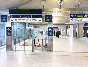 Cdgval Shuttle Train Paris Cdg Charles De Gaulle Airport